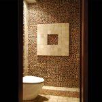 Pebble Polished Mosaic Brown 1